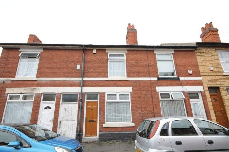 2 Bedrooms Terraced House for sale in STANTON STREET, DERBY