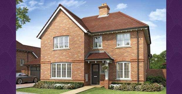 5 Bedrooms Detached House for sale in 12 Tudgey Gardens, Crookham Village, Fleet, GU51 5SB