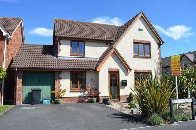 4 Bedrooms Detached House for sale in Barley Cross, Wick-st-Lawrence, Weston-super-Mare