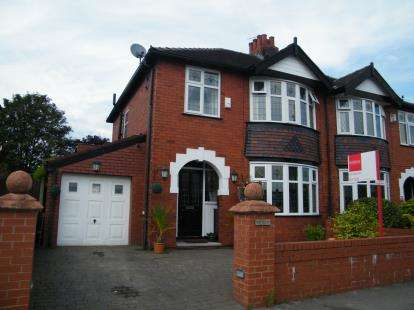 3 Bedrooms Semi Detached House for sale in Woodlands Drive, Offerton, Stockport, Cheshire