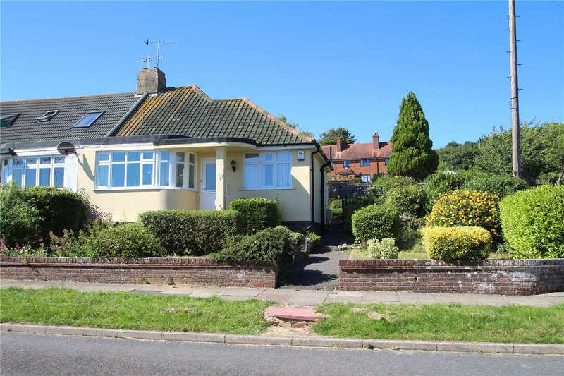 2 Bedrooms Semi Detached Bungalow for sale in Derek Road, North Lancing, West Sussex, BN15