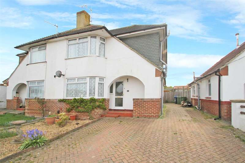 4 Bedrooms Semi Detached House for sale in Abbots Way, Lancing, West Sussex, BN15