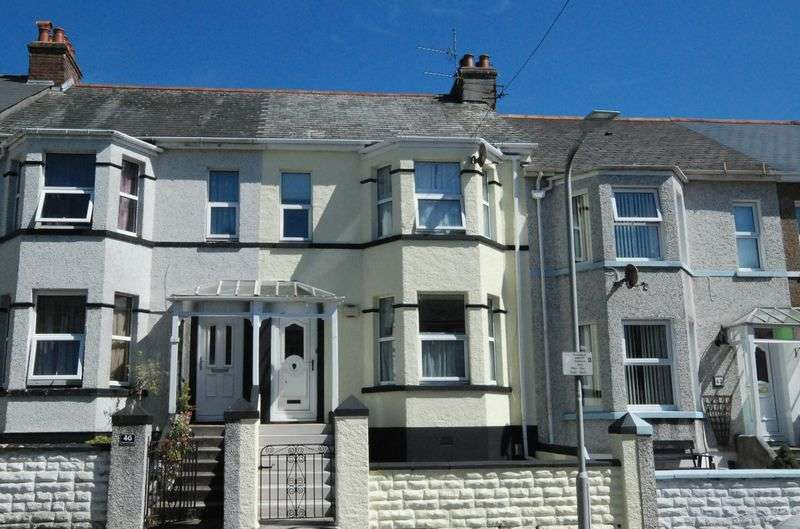 3 Bedrooms Terraced House for sale in Ridge Park Avenue, Mutley, Plymouth. A lovely modern 3 bed family home that could also attract student investors.