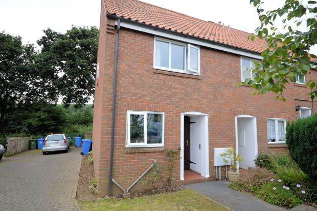 2 Bedrooms End Of Terrace House for sale in Dalby Close, Scarborough, North Yorkshire YO12 5HH