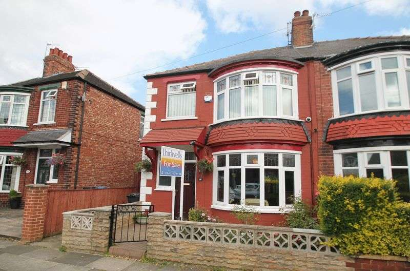 4 Bedrooms Semi Detached House for sale in Mulgrave Road, Linthorpe