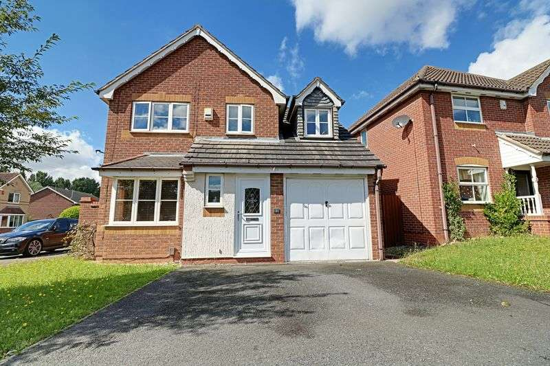 3 Bedrooms Detached House for sale in Siskin Crescent, Scunthorpe