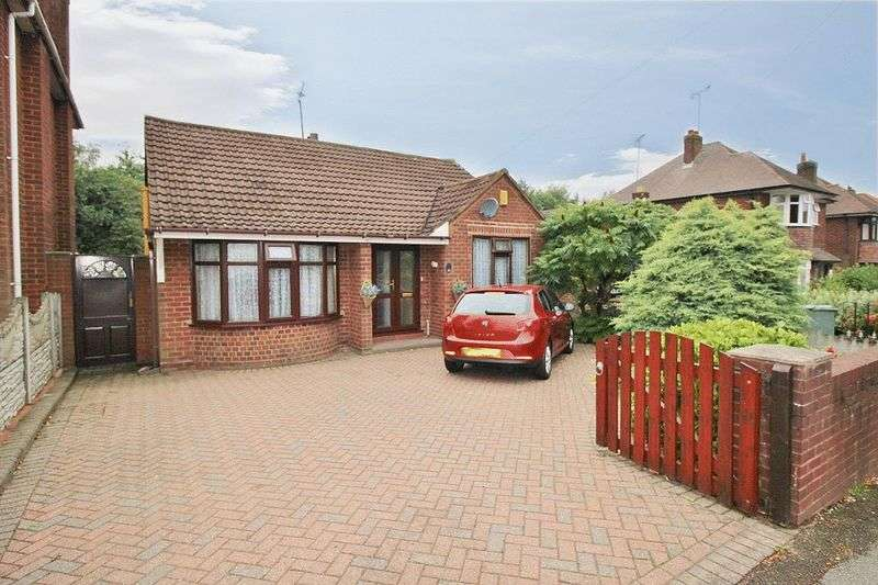 2 Bedrooms Detached Bungalow for sale in Monmouth Road, Bentley, Walsall