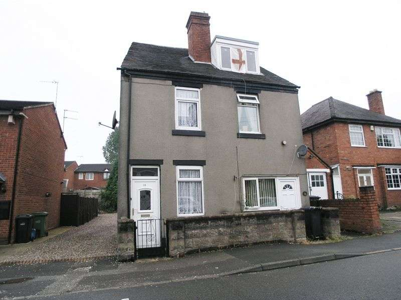 2 Bedrooms Semi Detached House for sale in BRIERLEY HILL, Brockmoor, Cressett Lane