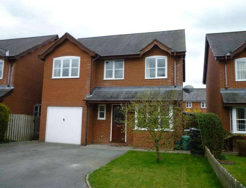 4 Bedrooms Detached House for sale in Willow Close, Four Crosses, Llanymynech, SY22