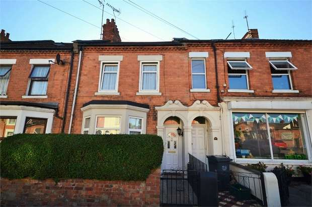 4 Bedrooms Terraced House for sale in Adams Avenue, NORTHAMPTON