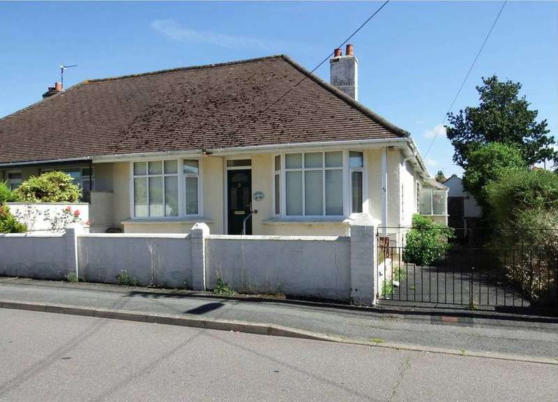 2 Bedrooms Semi Detached Bungalow for sale in Sticklepath, Barnstaple
