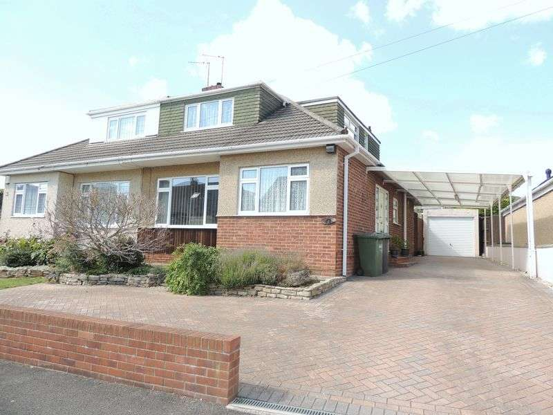3 Bedrooms Semi Detached Bungalow for sale in Stanhope Road, Longwell Green, Bristol