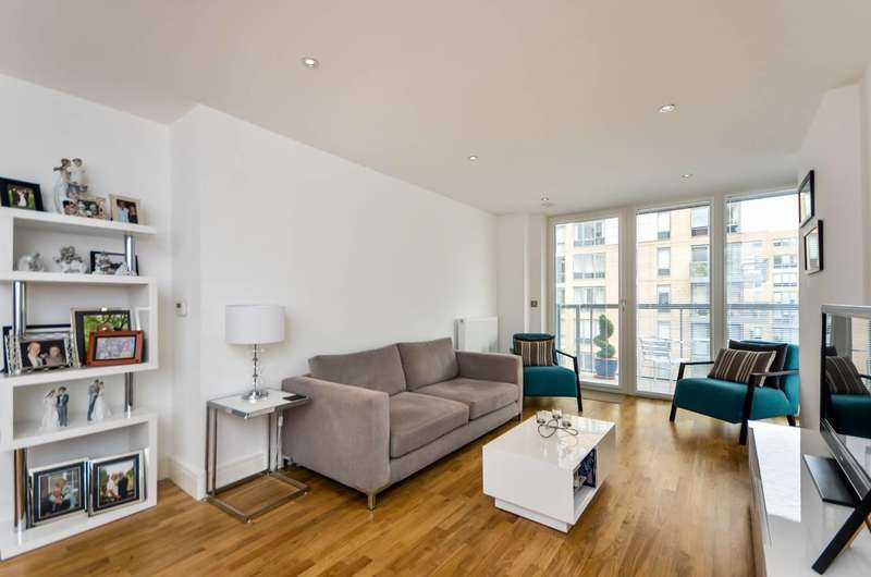 2 Bedrooms Flat for sale in Canary View, Greenwich, SE10