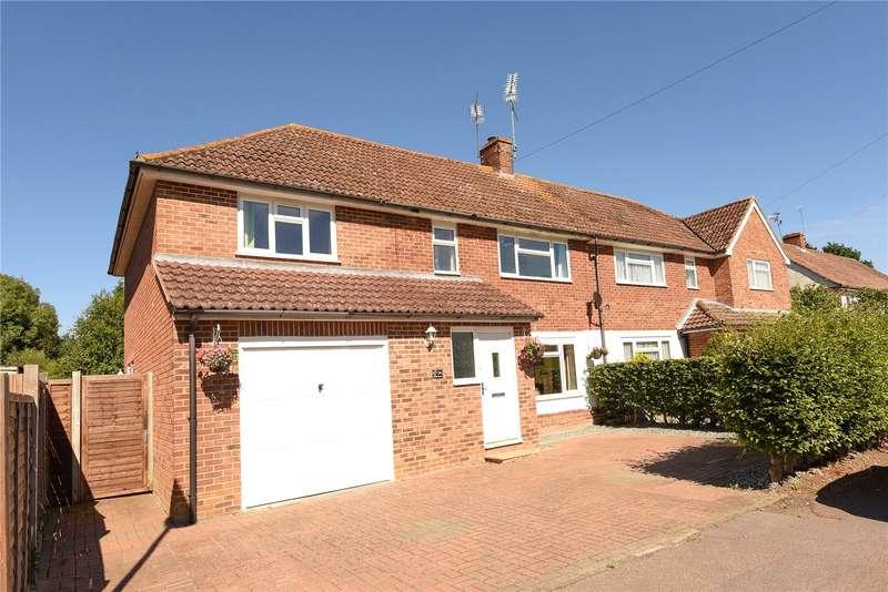 4 Bedrooms Semi Detached House for sale in Gorrick Square, Wokingham, Berkshire, RG41