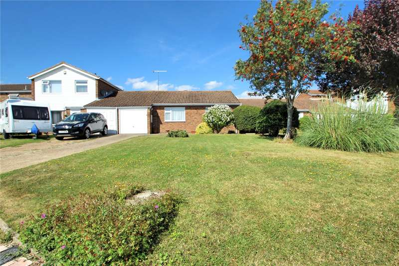 2 Bedrooms Semi Detached Bungalow for sale in Adelaide Close, Worthing, West Sussex, BN13