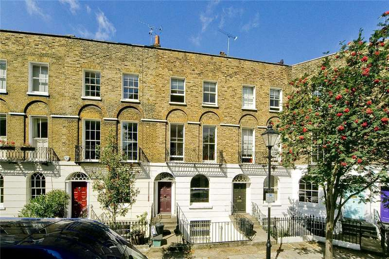 2 Bedrooms Maisonette Flat for sale in Cloudesley Square, Barnsbury, N1