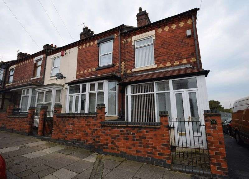 2 Bedrooms Terraced House for sale in Barthomley Road, Birches Head