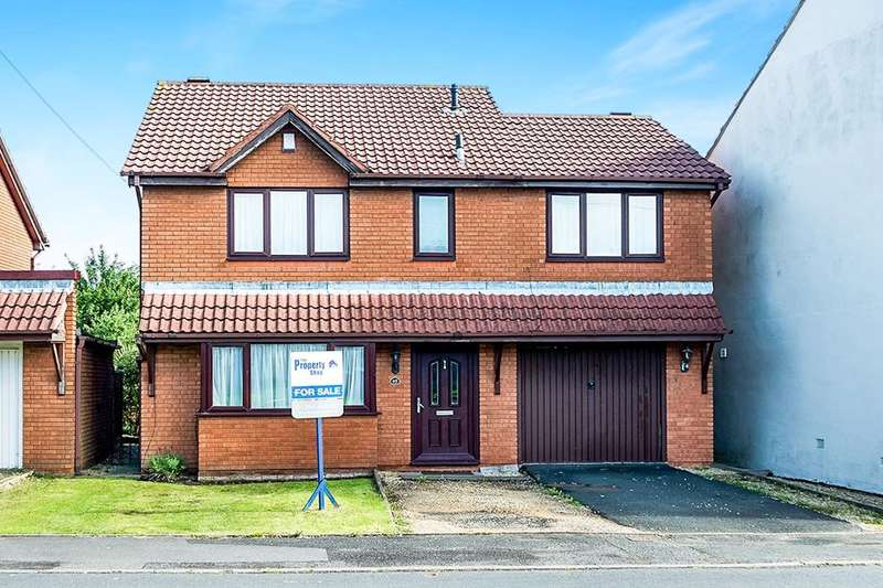 4 Bedrooms Detached House for sale in Blackbrook Road, Netherton, Dudley, DY2