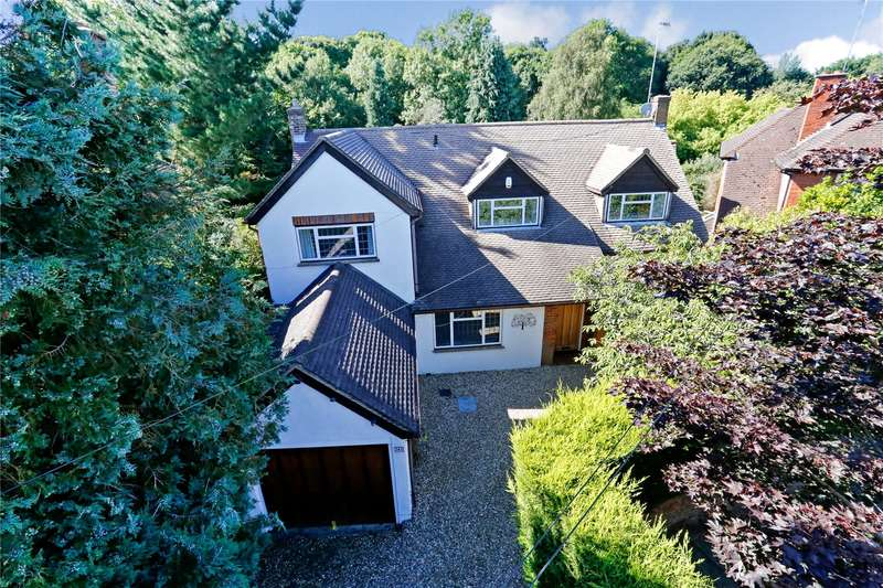 4 Bedrooms Detached House for sale in Cassiobury Drive, Watford, Hertfordshire, WD17