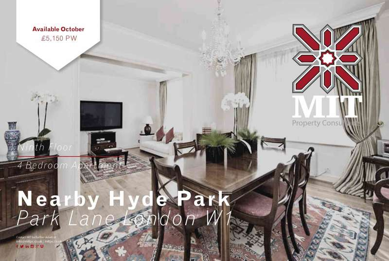 4 Bedrooms Apartment Flat for rent in Park Lane, Mayfair