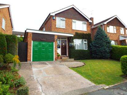 3 Bedrooms Detached House for sale in Wisterdale Close, Crewe, Cheshire