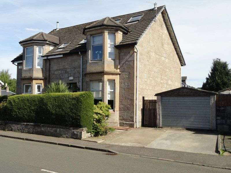 3 Bedrooms Semi Detached House for sale in Bonhill Road, Dumbarton