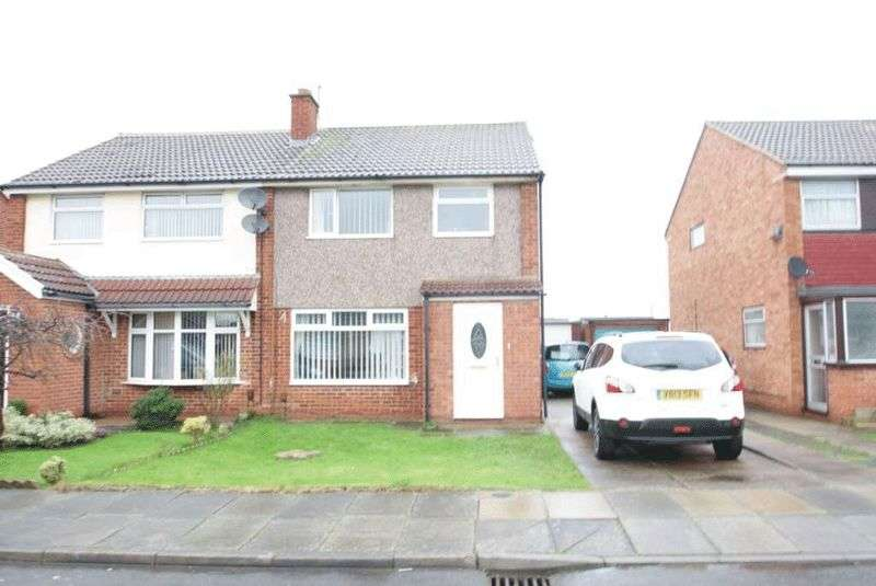 3 Bedrooms Semi Detached House for sale in Marykirk Road, Thornaby TS17 9HN