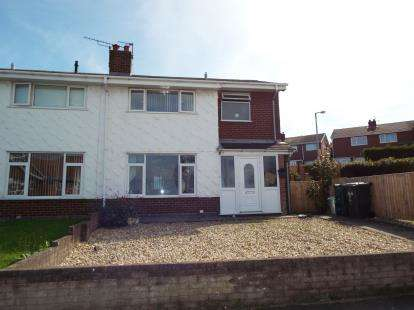 3 Bedrooms Semi Detached House for sale in Cynfran Road, LLysfaen, Colwyn Bay, Conwy, LL29