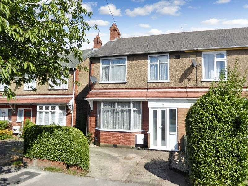 3 Bedrooms Semi Detached House for sale in Poynters Road, Luton