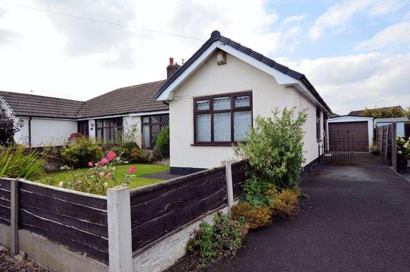 2 Bedrooms Semi Detached Bungalow for sale in Mendip Crescent, Bury