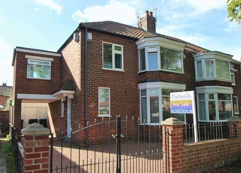 3 Bedrooms Semi Detached House for sale in Glaisdale Avenue, Tollesby
