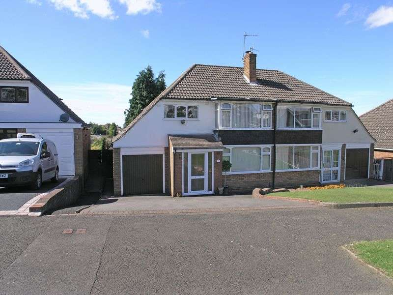 3 Bedrooms Semi Detached House for sale in STOURBRIDGE, WOLLESCOTE, Brackendale Way