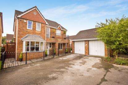 4 Bedrooms Detached House for sale in Ryding Close, Farington Moss, Leyland, Lancashire, PR26