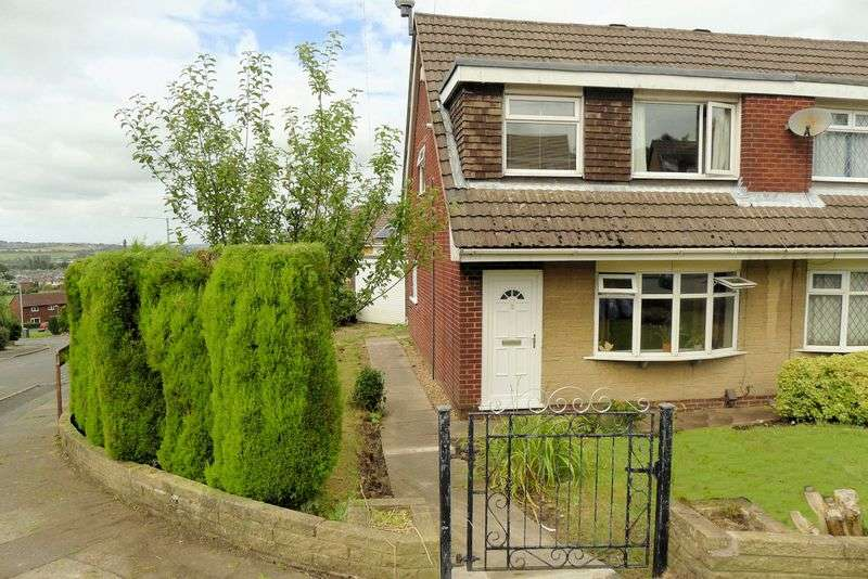 3 Bedrooms Semi Detached Bungalow for sale in Pennine Road, Horwich, Bolton