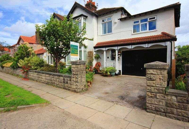 4 Bedrooms Semi Detached House for sale in Glenmore Avenue, Mossley Hill, Liverpool, L18