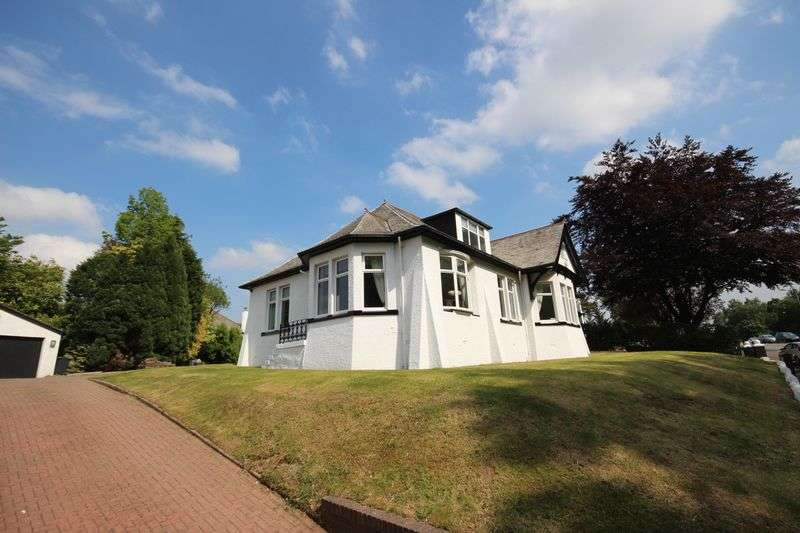 7 Bedrooms Detached House for sale in Davieland Road, Lower Whitecraigs, Glasgow, G46 7LA