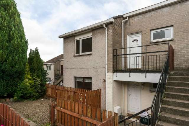 2 Bedrooms Maisonette Flat for sale in Dykes Road, Penicuik, Midlothian, EH26 0JD