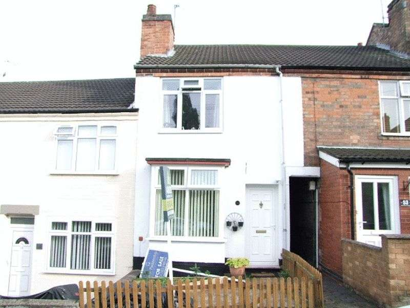 3 Bedrooms Terraced House for sale in Lower Outwoods Road, Burton