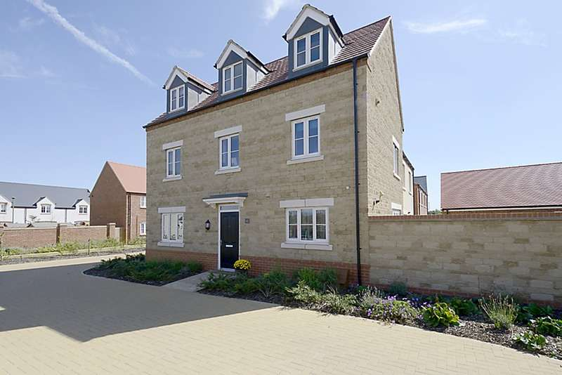 4 Bedrooms Semi Detached House for sale in Haydock road, Bicester, Oxfordshire, OX26