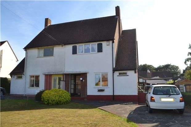 3 Bedrooms Semi Detached House for sale in Hillcrest Road, ORPINGTON, Kent, BR6 9AL