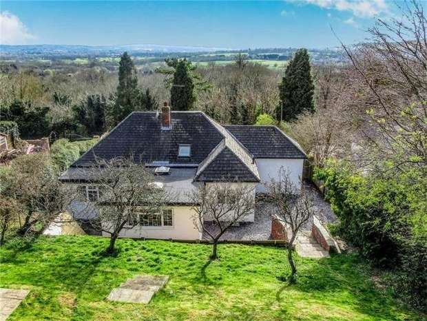 4 Bedrooms Chalet House for sale in Pilgrims Way East, Otford, Sevenoaks, Kent