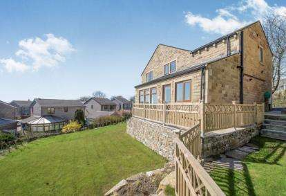 4 Bedrooms Detached House for sale in Shibden Head Lane, Queensbury, Bradford, West Yorkshire