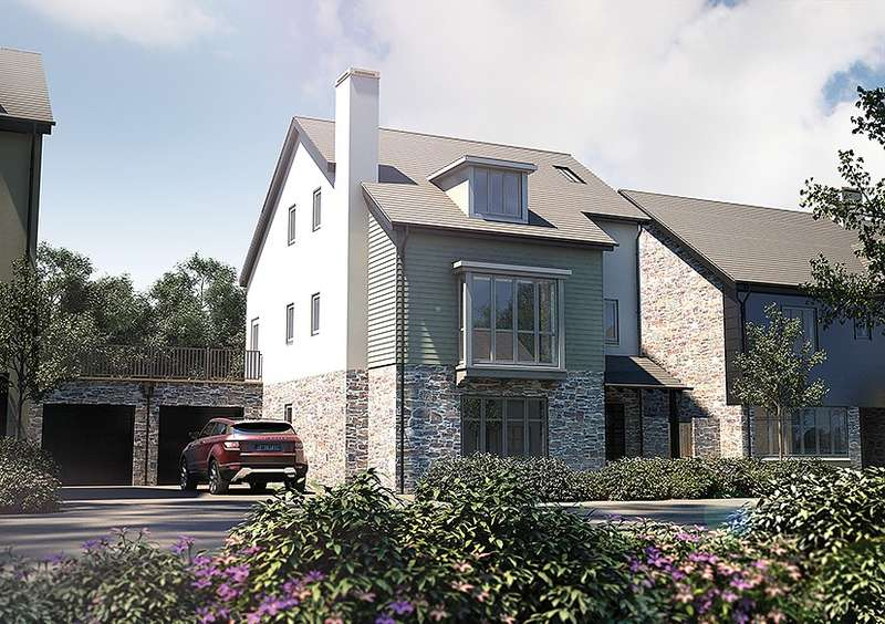 4 Bedrooms Detached House for sale in Plot 23, The Petrel, Salcombe View, Main Road, Salcombe