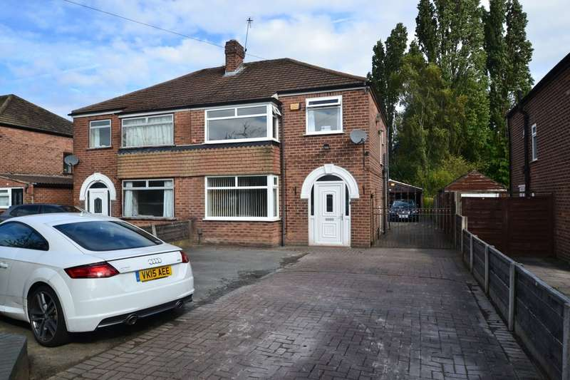 3 Bedrooms Semi Detached House for sale in Etchells Road, Heald Green