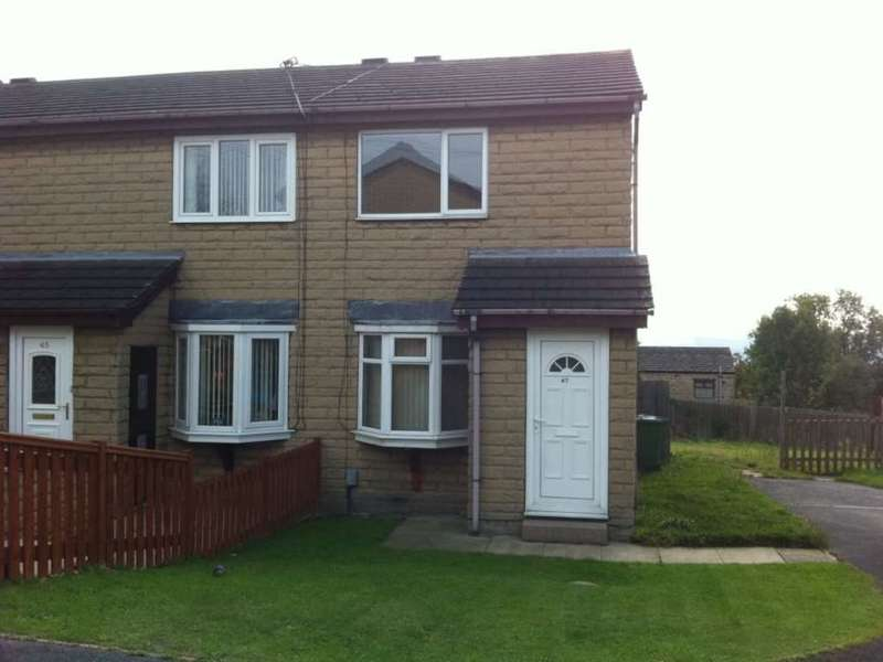 2 Bedrooms End Of Terrace House for sale in Morlands Close, Dewsbury