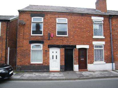 2 Bedrooms Terraced House for sale in Station Road, Winsford, Cheshire, CW7