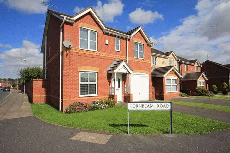 4 Bedrooms Detached House for sale in Hornbeam Road, Halewood, Liverpool, L26