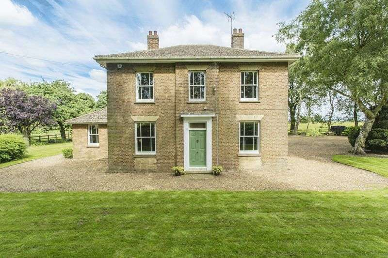 4 Bedrooms Detached House for sale in The Chestnuts, Wisbech Road, Welney