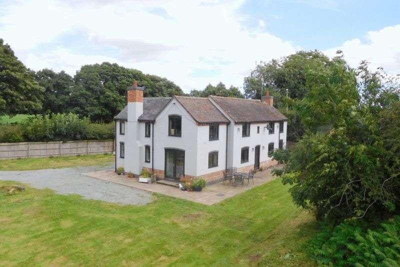 4 Bedrooms Detached House for sale in Marsh Lane, Hinstock, Market Drayton