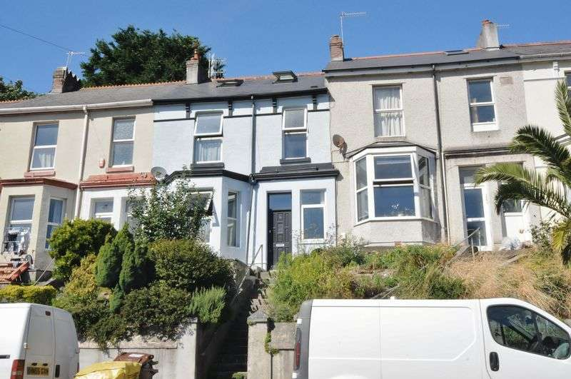 4 Bedrooms Terraced House for sale in Edgar Terrace, Plymouth. FOUR BED family home